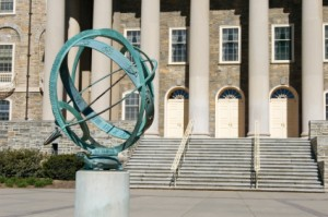 Sundial on Campus
